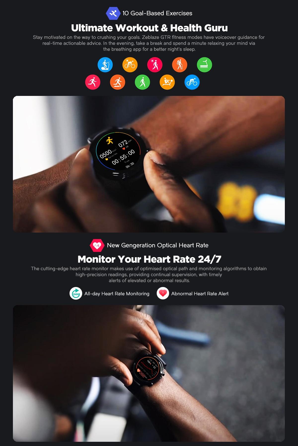 Zeblaze GTR Smartwatch 7
