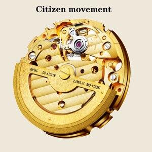 Image 3 - Tian Holle Mannen Mechanische Horloges Lederen Band Geavanceerde Beweging Met Jade Identificatie Certificaat Relojes Hombre