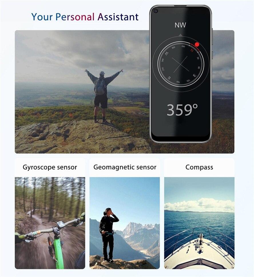Neue OUKITEL C17 Pro 4GB 64GB Android 9.0 6,35 ''19:9 MT6763 Smartphone Gesicht ID Octa Core 3900mAh triple Kamera 4G Handy