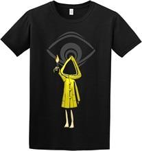 Limited little nightmares seis maw legal assustador design preto camiseta tamanho S-5XL