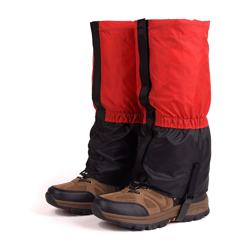 9 Color 1 Pair Waterproof Outdoor Hiking Walking Climbing Hunting Trekking Snow Legging Gaiters Winter Leg Protect Equipment