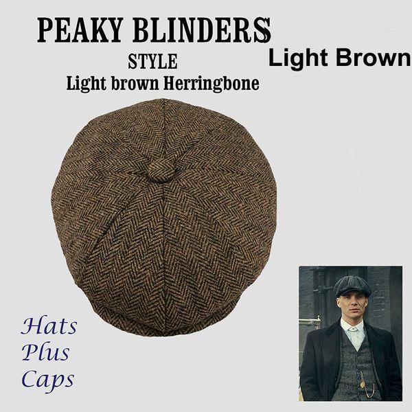 New plaid beret hat classic retro newsboy hats men and women universal cap outdoor leisure sports sun caps 7