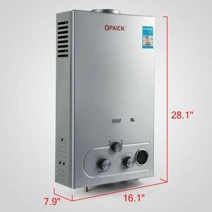 Propane Water Heater 18L 4.8GPM 36KW LPG Gas Water Heater Stainless Steel Boiler Kit