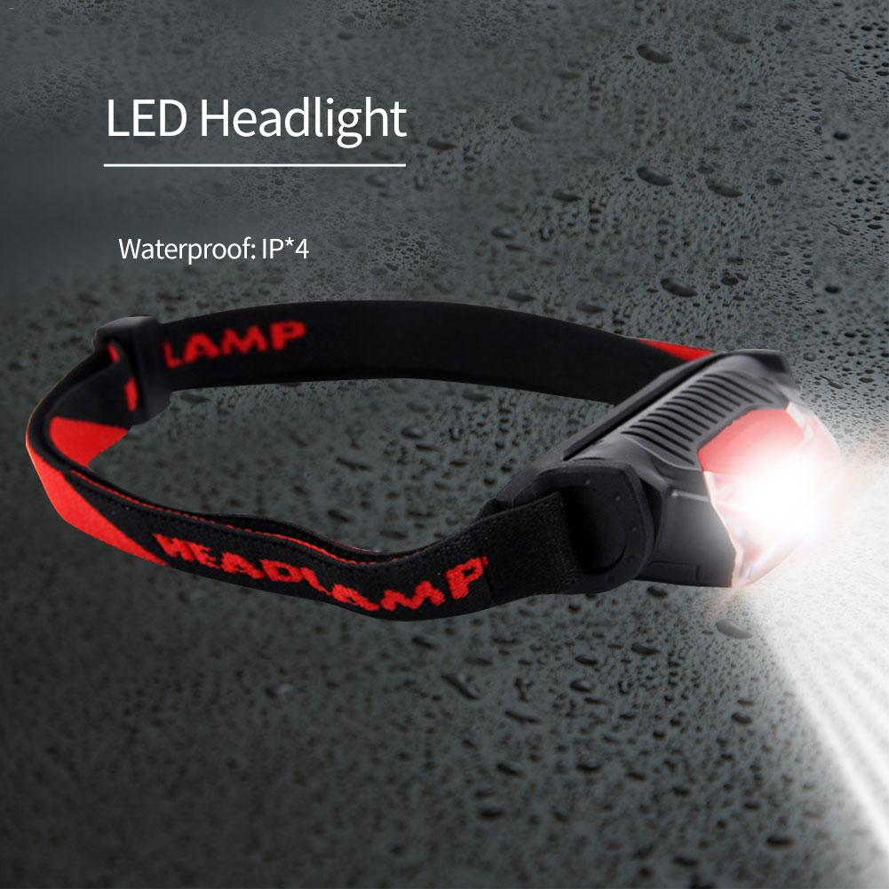 Super Bright LED Headlamp Fishing Lamp Headlight Zoomable 1 Lighting Mode Used For Adventure Camping Hunting, Etc Use AA Battery