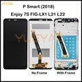 Для Huawei P Smart 2018 LCD FIG-LX1/LA1/LX2 ЖК-дисплей, сенсорный экран, сменный экран для Huawei P Smart/Enjoy 7S дисплей