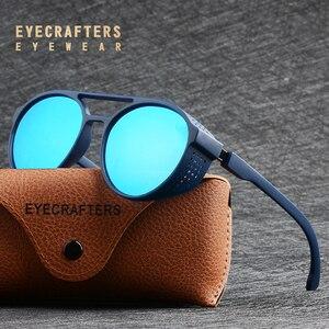 Image 2 - Óculos de sol polarizado tipo steampunk, óculos de sol da moda, polarizado, gótico, retrô, para homens e mulheres