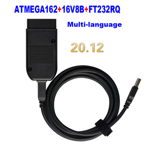 2021 популярными Wesheu VCD) V2 21,3 с шестигранной головкой Интерфейс Электрический тестер VA COM 20,12 для VW AUDI Skoda сиденья ATMEGA162 + 16V8 + FT232RQ Диагностические сканеры для автомобиля      АлиЭкспресс