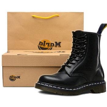 цена Genuine Leather Women boots Ankle Boots Winter Work Safeti Boots Solid Ankle Boots Female Punk Women Shoes онлайн в 2017 году