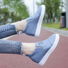 цена на Plus Size 35-43 Women Shoes Platform Flats Shoes Woman Casual Female Fashion Sneakers Loafers Round Toe Slip-on Ladies Shoes