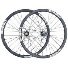 1350g 29er MTB XC SL BOOST פחמן גלגלים 28mm אסימטרית 28mm עמוק סופר אור זוג גלגלים ללא פנימית 15X110 12X148 10s 11s XD 12s