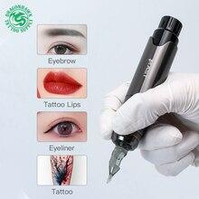 Профессиональный Перманентный макияж машина роторная ручка подводка для глаз инструменты тату машина Ручка стиль аксессуары для тату