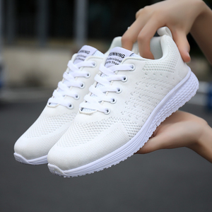 Image 4 - Tenis Feminino woman Tennis Shoes 2019 Hot Sale Sport Shoes Female Stability Athletic Fitness Gym Sock Sneaker Trainers
