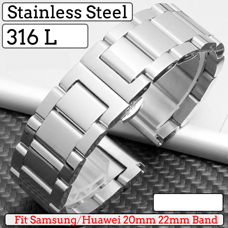 Huawei Watch GT 2 Strap For Samsung Galaxy Watch 46mm Gear S3 Frontier Active 22mm Watch Band Milanese Loop Bracelet Huawei Gt