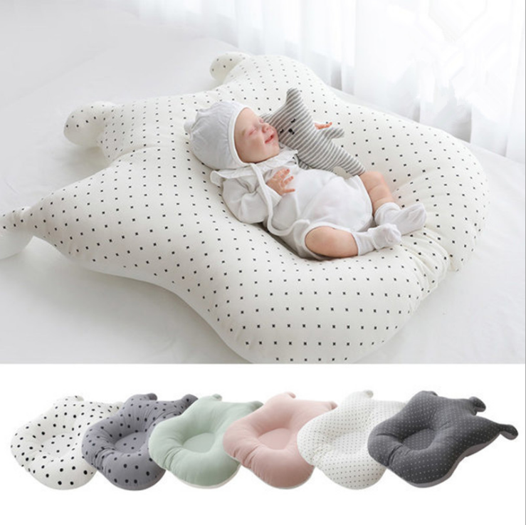 Baby Nest Bed Portable Crib Travel Bed Infant Toddler Cotton Cradle For Newborn Baby Bassinet Bumper Baby Photo Props