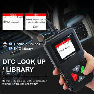 Image 3 - YA101 מלא OBD2 סורק OBDII קוד Reader רכב אבחון כלי OBD2 12V רכב סורק מנוע מנתח OBD2 אוטומטי סריקה כלי