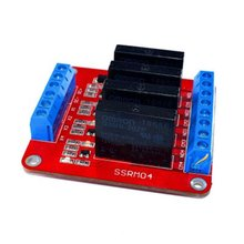 Smart Electronics 1/4 Channel 5V DC Relay Module Solid State Level  Relay SSR AVR DSP for arduino Diy Kit 2 channel ssr solid state relay high low trigger 5a 3 32v for arduino uno r3 new
