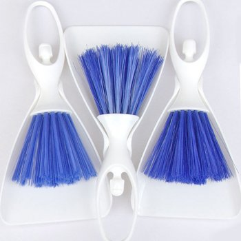 Car Detailing Cleaning Brush Dustpan Air Outlet Vent Cleaning Tools Kits Panel Dashboard Care Laptop Keyboard Scoop Dust Brush
