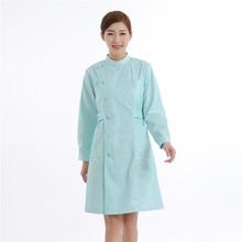Beautician The Nurse Wears A Long Sleeve Winter Coat Of White Coat Beauty Shop Drugstore Work Clothes The Nurse Dress a nurse s duty