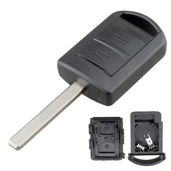 2 przyciski obudowa kluczyka do samochodu Shell samochodowy futerał na pilota zdalnego sterowania pasuje do Agila Meriva Opel Vauxhall Corsa 2000 ON 2002 ON Combo 2001 ON tanie i dobre opinie CN (pochodzenie) Key Shell
