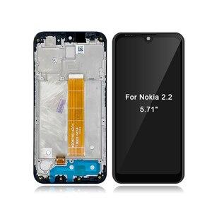 """Image 3 - 노키아 2.2 N2.2 5.71 """"LCD 디스플레이 터치 스크린 디지타이저 어셈블리 교체 LCDs + 선물"""