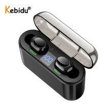 TWS Wireless Earphone Bluetooth 5.0 Earphones Power LED Display Touch Control Sport Stereo Cordless Earbuds Headset Charging Box