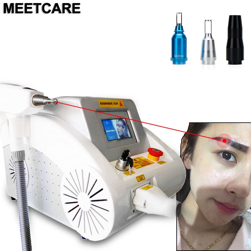 Laser Tattoo Remover Machine Eyebrow Pigment Removal Machine Skin Tightening Skin Rejuvenation Beauty Device With Red Pointer