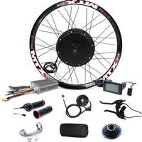 3000w electric bike conversion kit 48V-72V 3000w E Bike conversion Kit 90km/h max speed LCD display included.