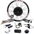 90 км/ч Максимальная скорость ЖК-дисплей 3000 Вт комплект для переоборудования электрического велосипеда 48в-72в 3000 Вт Набор для преобразования ...