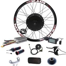 90km/h max speed LCD display  3000w electric bike conversion kit 48V-72V 3000w E Bike conversion Kit