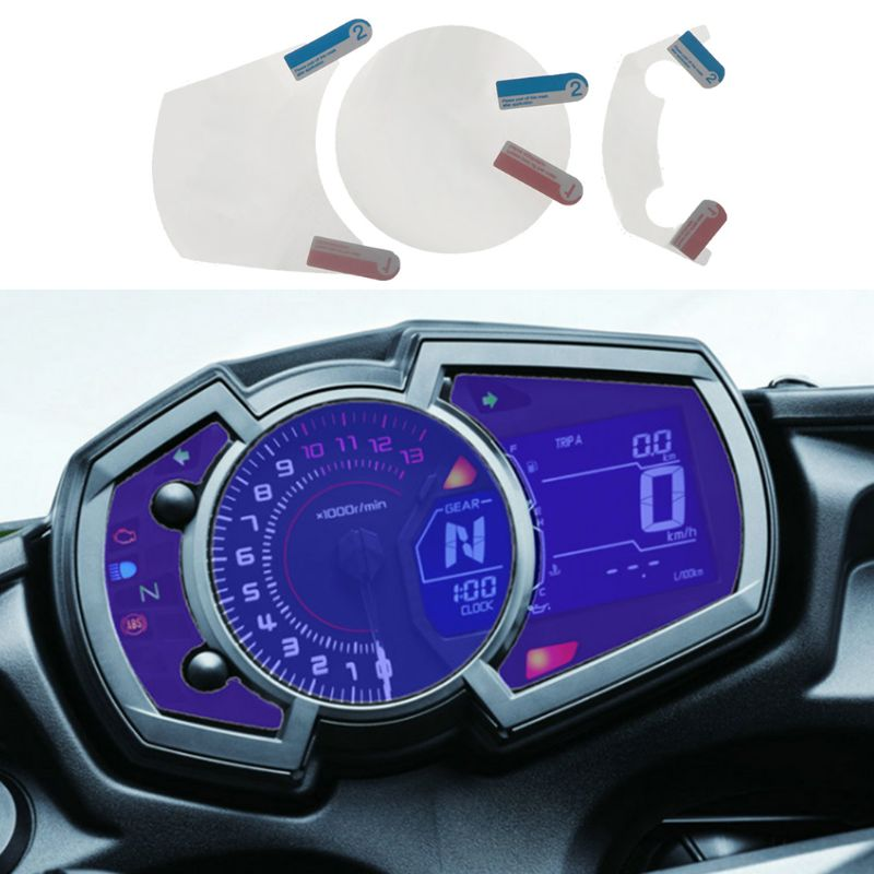 2 Set Cluster Scratch Screen Protection Film Protector For Kawasaki NINJA 650 Ninja 1000 250 <font><b>400</b></font> Z1000SX X-<font><b>300</b></font> Versys 2017 2018 image