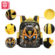 TRANSFORMERS Children's SchoolBag New Cartoon Anime Pattern Backpack Fashion Primary SchoolBag Waterproof Polyester Big Backpack