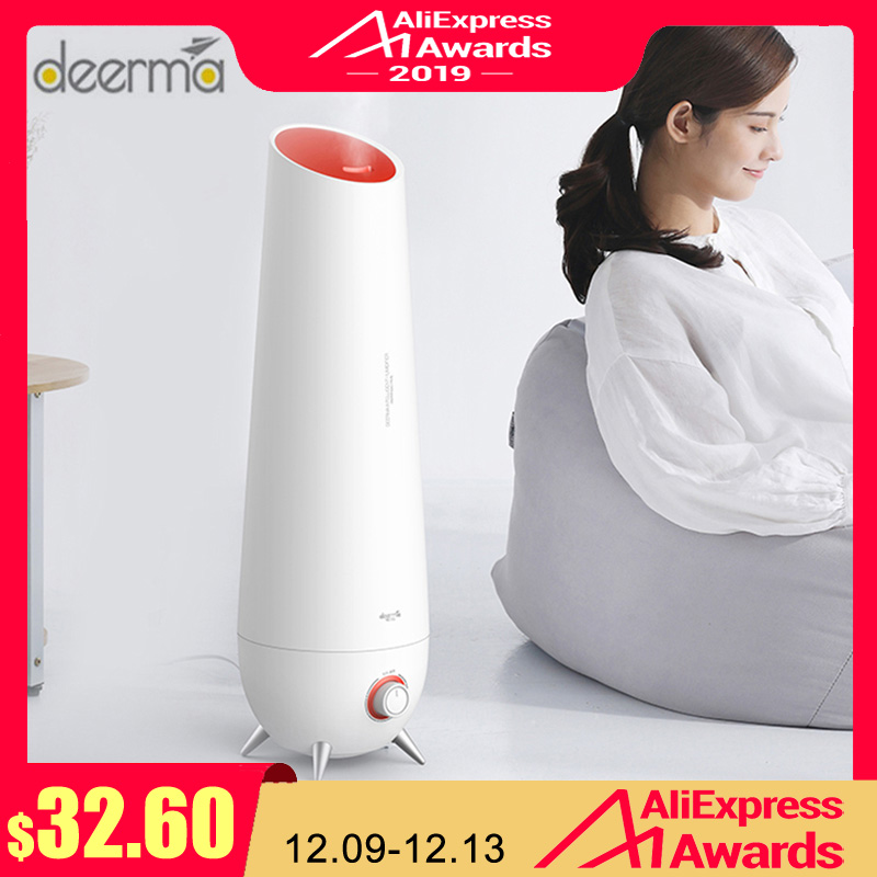 Newest Deerma LD610 6L Air Humidifier Ultrasonic Aromatherapy Air Diffuser Cool Mist Air Humidifier Household Low Noise