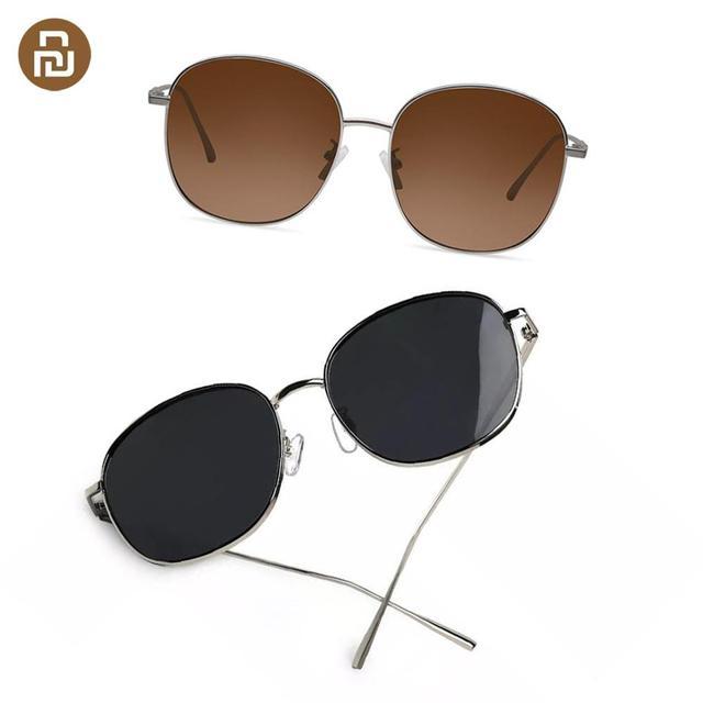 Newest MW Polarized Sunglasses Metal Square Frames Stylish UV proof Anti dazzle Sunglasses Outdoor Men Women Sunglasses