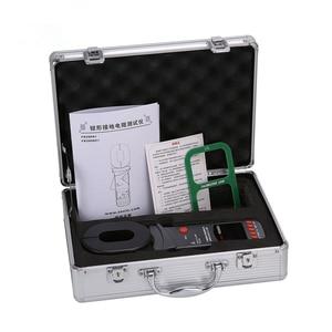 Image 5 - FUZRR FR2000 + Serie Digitale Clamp Op Grond Aardweerstand Tester Bliksembeveiliging Bliksem Grond Tester 99 Set