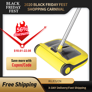 Image 1 - Floor Sweeper Cleaner Microfiber Flat Mop for Hardwood Ceramic Tile Laminate Carpet Home Kitchen Pet Hair Dust Cleaning Mopping