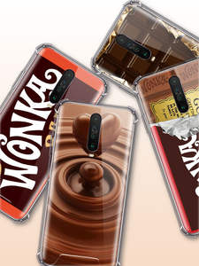 Chocolate-Case Wonka Xiaomi Redmi Coque Soft-Covers Anti-Fall-Phone Note-8t for 9/8-7