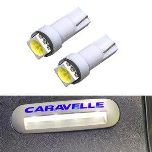 16pcs White Error free LED bulb Entry interior Foot Step light For VW Multivan Caravelle Transporter T5 T5.1 T6 LED lamp ONLY