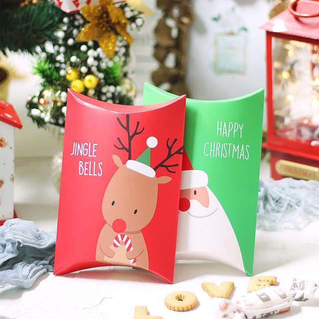 Christmas Printed Kraft Wrapping Paper Set