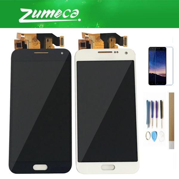 Adjust Brightness 5.0 Inch For Samsung Galaxy E5 E500 E500M E500F E500H Samsung E500 LCD Display+Touch Screen 3 Color With Kits
