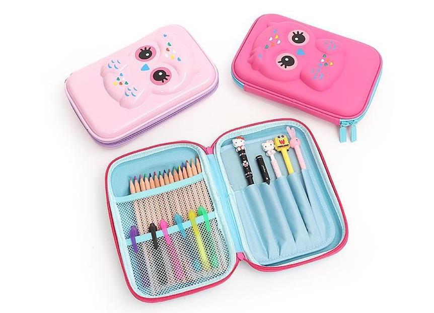 Кавайный чехол для карандаша в виде единорога, коробка для карандаша, милая большая вместительность, мультифункциональная ручка, чехол, школьные принадлежности для девочек и мальчиков 5