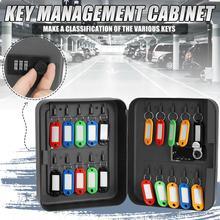 Hause Kombination Lock Key Safe Box Organizer Abschließbar Passwort Wand Montiert Büro Auto Verstellbarem Code Metall Sicherheit