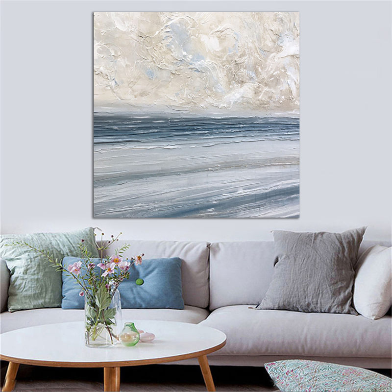 Seascape Printed Canvas Painting