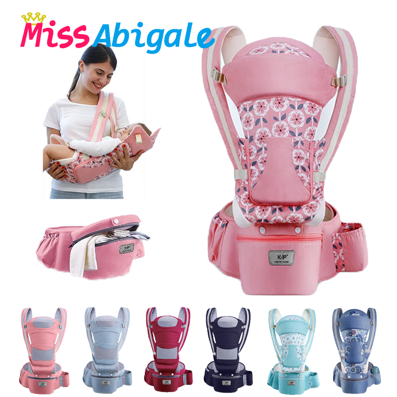 MissAbigale Breathable Ergonomic Backpack Baby Carrier Infant Baby Carrier Kangaroo Hip seat Heaps Baby Sling Carrier Wrap|Backpacks & Carriers| |  - AliExpress
