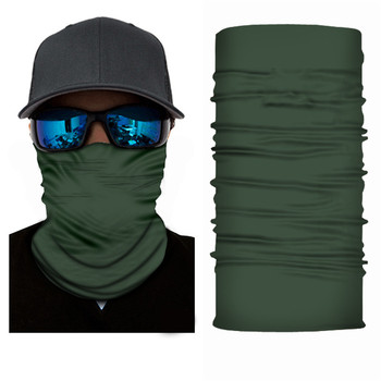Anti UV Neck And Face Cover Scarf Made Of Polyester Microfiber Material For Cycling