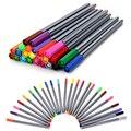 Карандаш Fineliner 24 цветов, 0,4 мм, с цветной книгой, маркеры для рисования, карандаш на водной основе