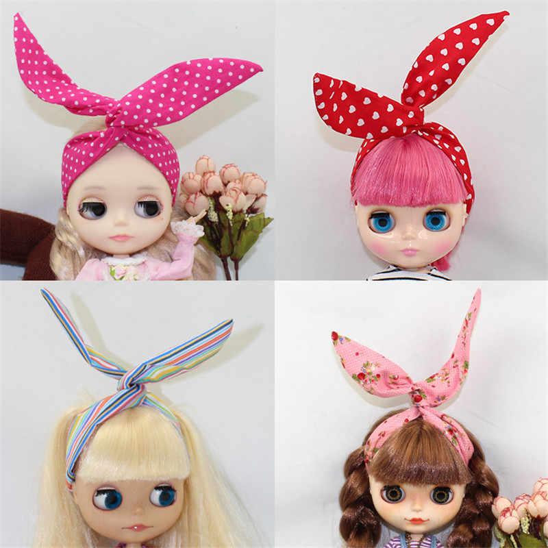 Ручной работы милые Blyth детские игрушки с повязками на голову кукла повязка для волос для 12 дюймов кукла одевание красивая принцесса волосы куклы аксессуары