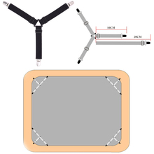 Мебель Металлический Ремешок Зажимы для матраца Slip-On листы держатель с креплением один размер ткань крепления Клип эластичный ремешок слинг