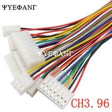 5 sztuk 20CM CH3.96 22AWG 2 P/3 P/4 P/5 P/6 P złącze wtykowe z kablem drutu 3.96MM PITCH 2/3/4/5/6 Pin
