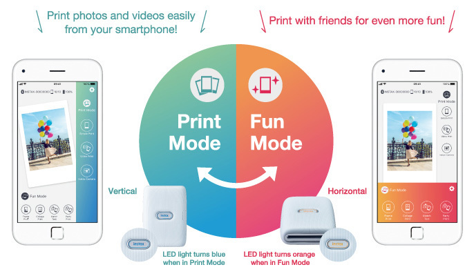 PRINTER FOR SMARTPHONE - INSTAX