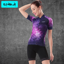 Zestaw koszulek rowerowych CHEJI Team Women Summer